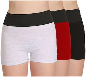Cotton Solid Pack of 3