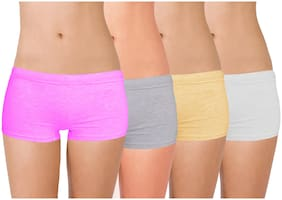 Cotton Solid Pack of 4