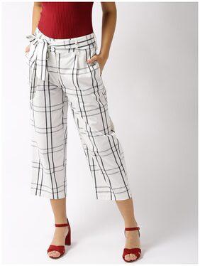 Sera Check Print Trouser