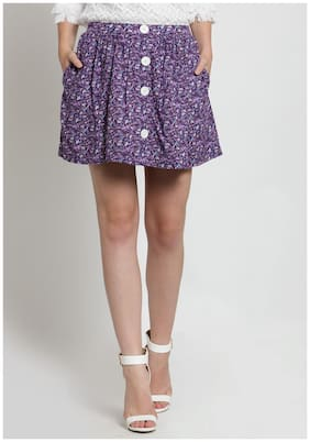 Women Floral Skirt ,Pack Of 1