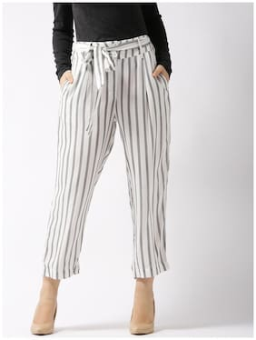 Sera Striped Print Trouser