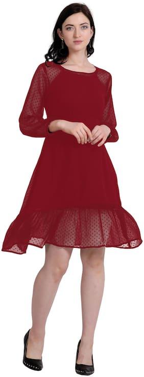 Women Polka Dots Dress
