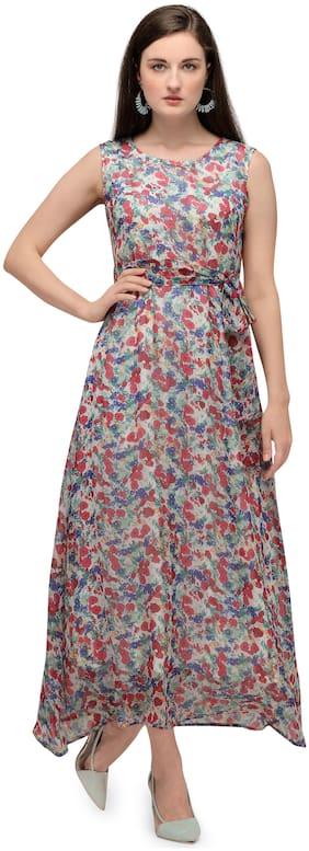 Serein Multi Floral Maxi dress