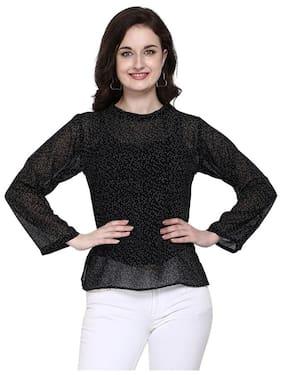 Serein Women Polka dots Regular top - Black