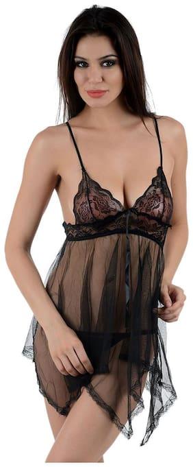 Jara Collection Black Night Gown