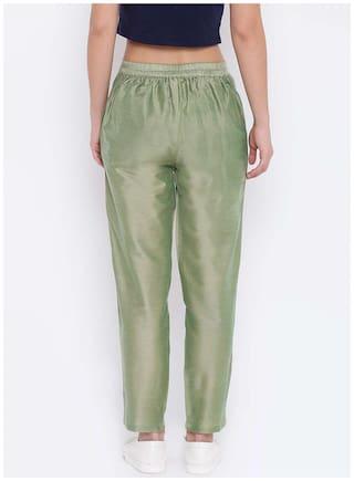 Shakumbhari Pant Cotton Green Shakumbhari Green Silk wXxUHq6
