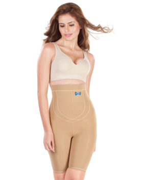 0bf49055e27cb Dermawear Women Blended Tummy And Thigh Shaper - Brown