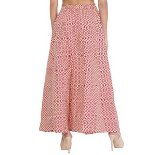 Girls Shararat Cotton Women Ladies Printed Kali Palazzo Premium Quality For AA0f6Bnx