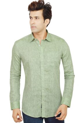 Jack & Jury Men Regular Fit Casual shirt - Green