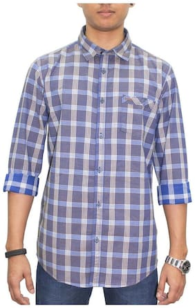 Southbay Men Slim Fit Casual shirt - Purple