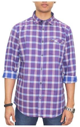 Southbay Men Slim Fit Casual shirt - Purple