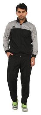 Shiv Naresh Men Polyester Blend Track Suit - Black