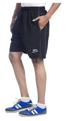 Shiv Naresh Solid Men's Running Shorts;Black