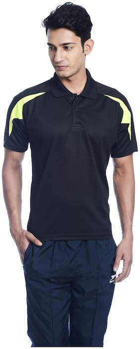 Shiv Naresh Black Net Tshirt