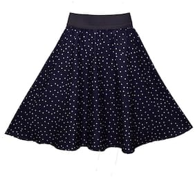 Shopingfever Blue Printed Women Skirt (Size-28)