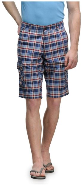 Canary London Blue Low Rise  Narrow Fit  Shorts (Delston)
