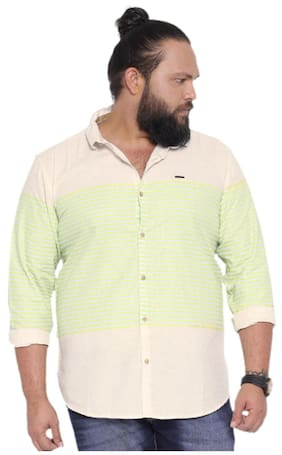 Showoff Men Regular Fit Casual shirt - White