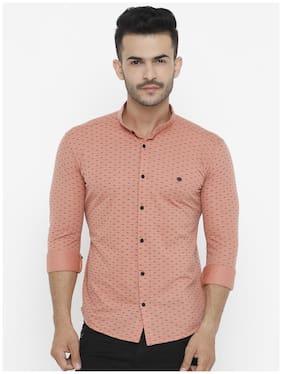 Show off Men Slim Fit Casual shirt - Orange