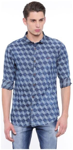 Showoff Men Multi Printed Slim Fit Casual Shirt