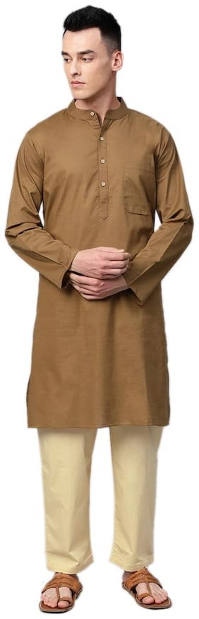 Men Cotton Kurta Pyjama