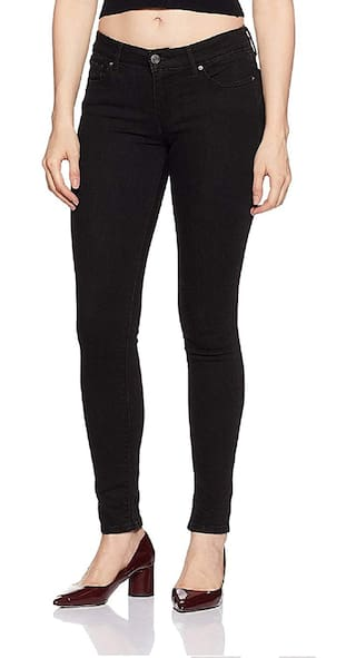 Silky Cotton Lycra Stretchable Combo of 2 Jeans Womens xxrzwB