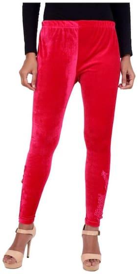 Women Viscose Rayon Solid Tights