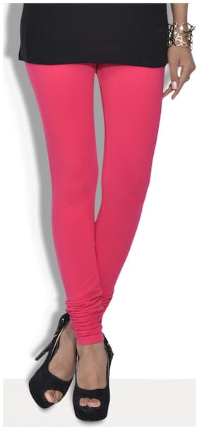 Sizzlacious Solid Tights - Pink