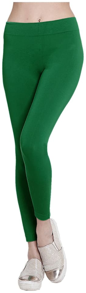 Sizzlacious Solid Tights - Green