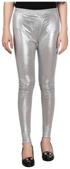 Sizzlacious Solid Tights - Grey