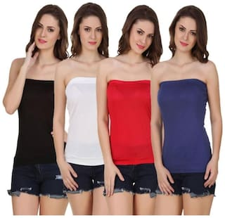 Sizzlacious Tube Top(pack Of 4)