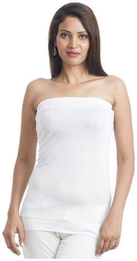 Women Solid Round Neck Top