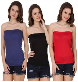Sizzlacious Tube Top (pack Of 3 )