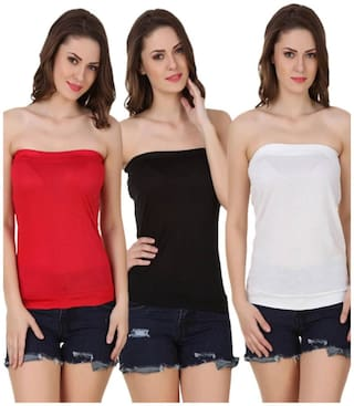 Sizzlacious Tube Top (pack Of 3)