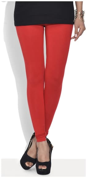 Sizzlacious Solid Tights - Red