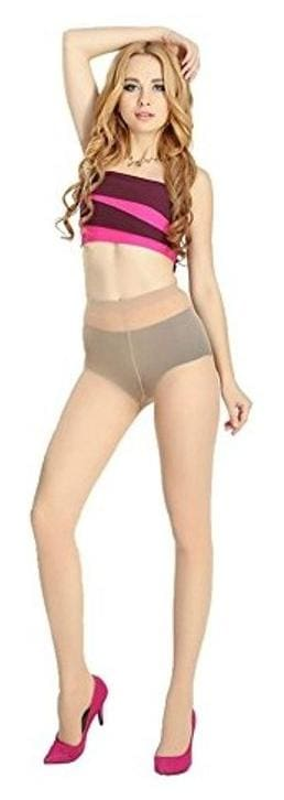 e213ca7e0329 Buy skin Colour Nylon Women's Panty Hose Online at Low Prices in ...