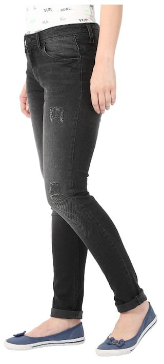 Skinny Fit Black Denim from Alibi