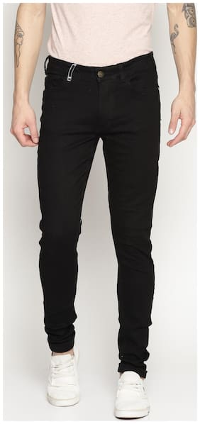 IMPACKT Men Mid rise Skinny fit Jeans - Black