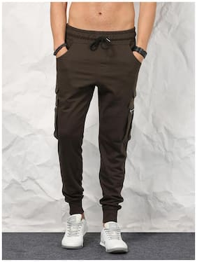 SKULT By Shahid Kapoor Men Brown Regular Fit Joggers