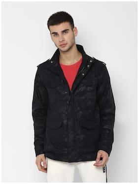 Men Polyester Military Jacket
