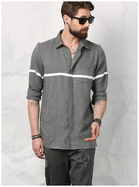 Men Regular Fit Weaved Casual Shirt