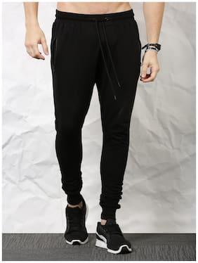57216c19a23 SKULT by Shahid Kapoor Men Cotton Blend Track Pants - Black