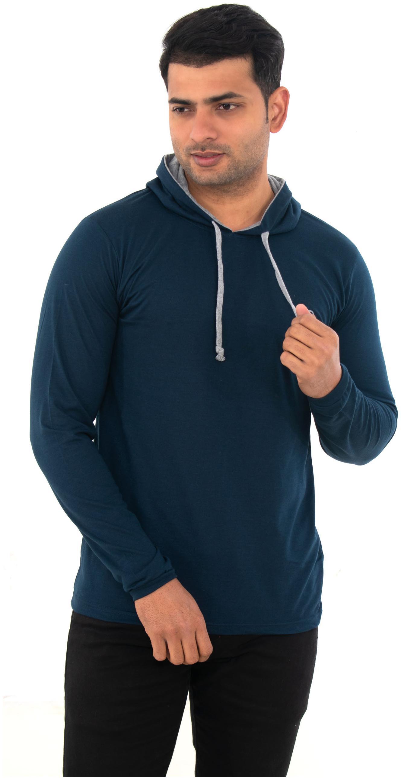 SKYBEN premium quality tshirt with comfort fit and unique design. Blue color
