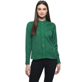 The Vanca Sleeve Shirt Top With Lace Detailing