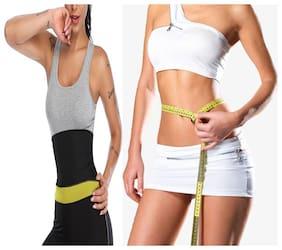Slimming Belt with Tummy Control Shapewear Fat Cutter Tummy Tucker Waist TRimmer Weight Loss Loss for Women & Men