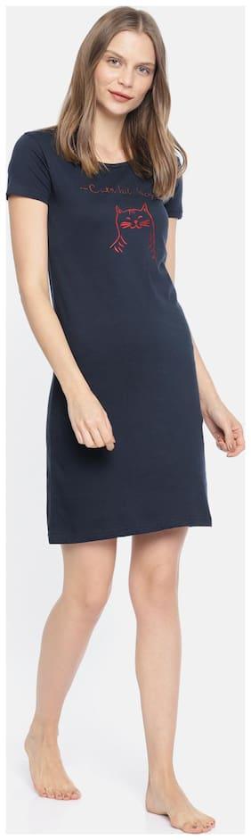 Slumber Jill Blue Night Gown