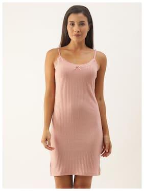 Women Striped Nightdress