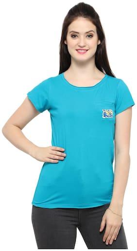 Smarty pants women's minon patch tag t-shirt.