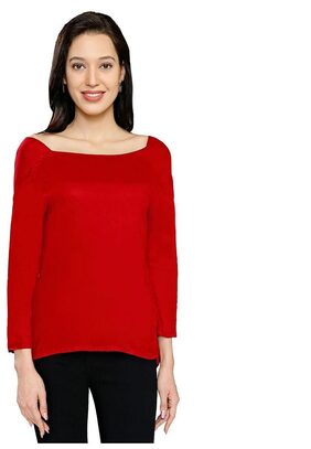 Smarty Pants Women's Maroon Casual Top