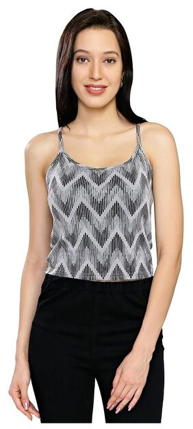 Smarty Pants Women's Printed Spaghetti Top
