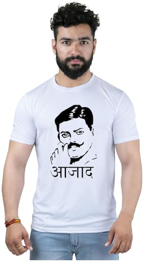 Snoby Azad Independence day spl printed t-shirt